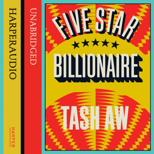 Five Star Billionaire audiobook cover art