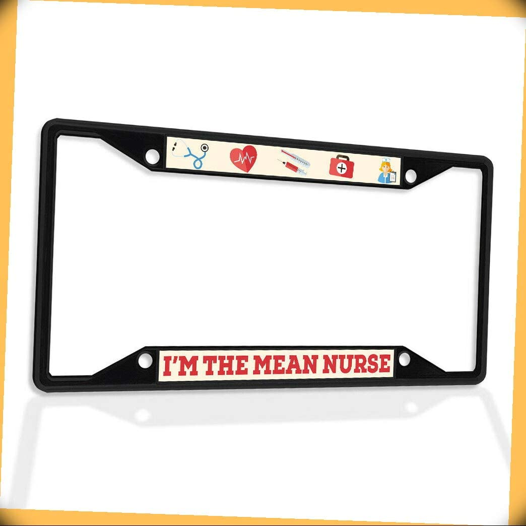 New Metal Aluminum Alloy Black B4K Challenge the lowest price of Japan License Frame I' Plate Cheap sale Insert