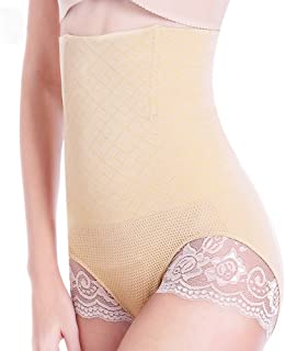 89895680f3 SURE YOU LIKE High Waist Shapewear Control Panties Underwear lace Body  Shaper