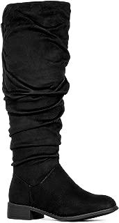 Women's Slouchy Knee High Hidden Pocket Boots
