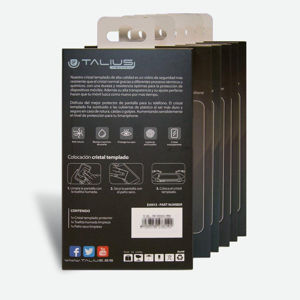 TALIUS Tal-Hua-P8 Cristal Templado para Smartphone Huawei P8 ...