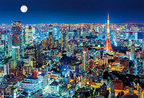 ビバリー 1000ピースジグソーパズル 東京夜景 マイクロピース(26×38cm)