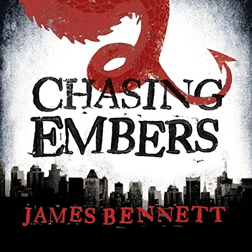 Chasing Embers audiobook cover art