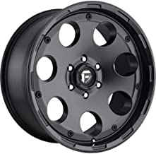 FUEL Enduro BD -Matte BLK Wheel with Painted (17 x 9. inches /6 x 135 mm, -12 mm Offset)
