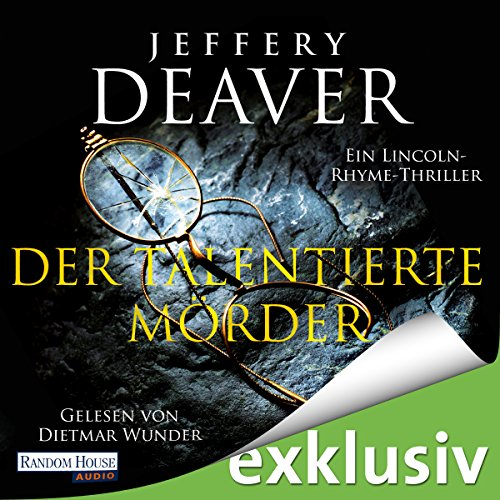 Der talentierte Mörder (Lincoln Rhyme 12) audiobook cover art