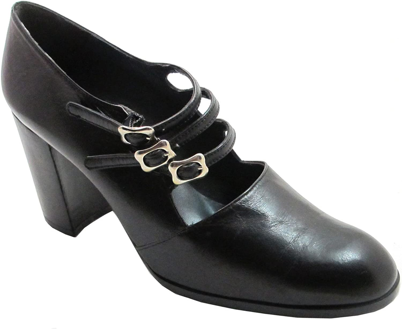 Enrico Navarro Women's Round Toe Italian Designer shoes