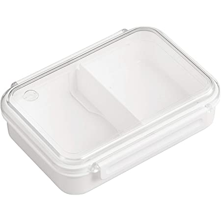 OSK 弁当箱 ランチボックス まるごと冷凍弁当 ホワイト 800ml [保存容器/冷凍OK/レンジOK/仕切付] 日本製 食洗機対応 PCL-5S