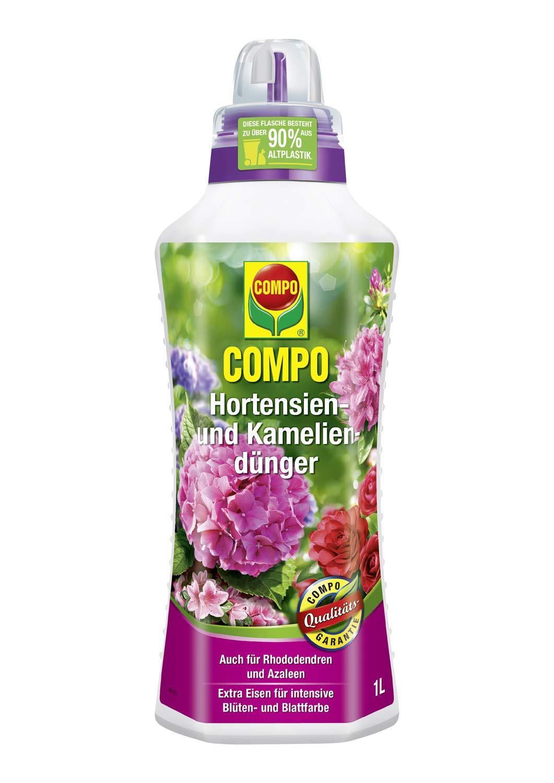 Compo 22556 - Fertilizante para hortensias, azaleas, camelias y ...