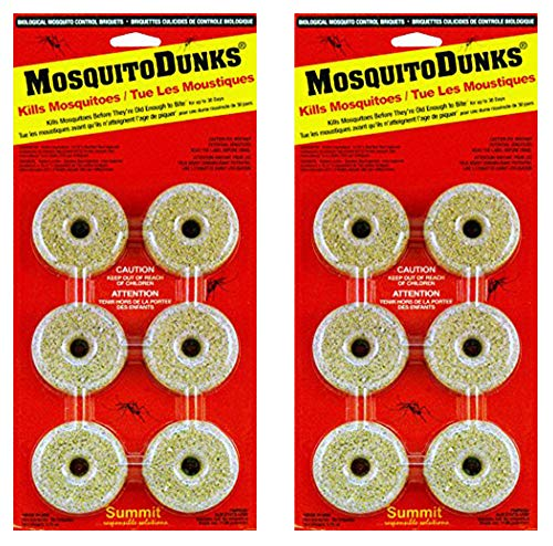 Summit...responsible solutions Mosquito Dunks 102-12 Mosquito Killer, 12 Pieces