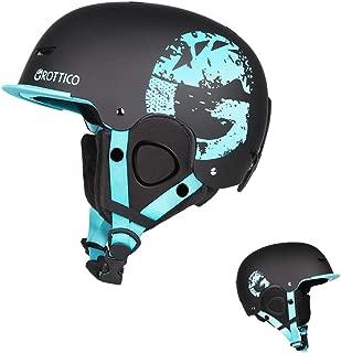 GROTTICO Ski-Snow Helmet for Kids-Youth-Women-Men - Snowboard Helmet with Visor Pass ASTM Certified Safety, 3 Sizes Options