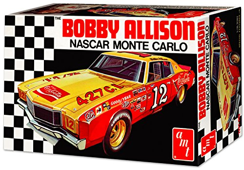 AMT Bobby Allison 1972 Chevy Monte Carlo Stock Car 1:25 Scale Model Kit