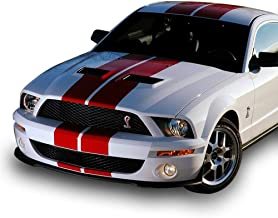 Bubbles Designs 1x Full Stripe Kit Decal Sticker Graphic Compatible with Ford Mustang GT 2005-2014 S-197