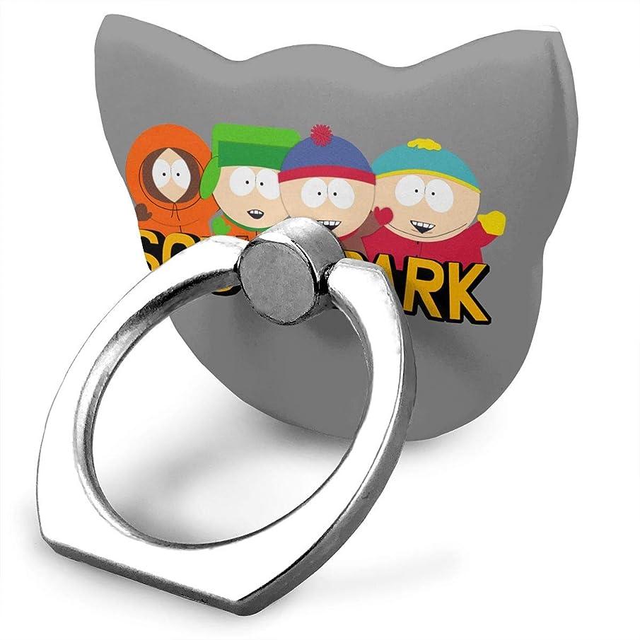 系統的謝罪するバッグサウスパーク キャラクター アニメ柄 スマホ リング ホールドリング 指輪リング 薄型 おしゃれ スタンド機能 落下防止 360度回転 タブレット/スマホ\r\n IPhone/Android各種他対応