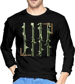 Type O Negative October Rust Cotton Mens T Shirt Funny Long Sleeve Men's Tees Black