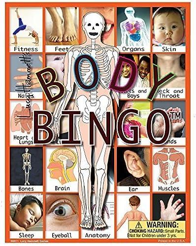 Body Bingo Game by Lucy Hammett Games