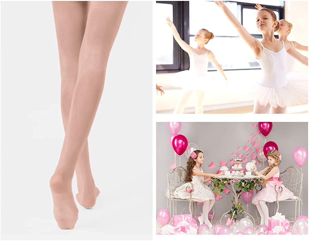 STELLE Girls Ballet Dance Students School Footed Tight Toddler//Little Kid//Big Kid