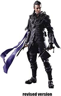 Luoyongyou Kingsglaive Final Fantasy XV Nyx Ulric Play Arts Kai Action Figure - Equipped with Weapons, Helmets and Replaceable Hands