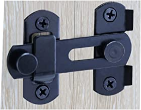Barn Sliding Door Antique Lock Door Latch Cabinet Wine Cabinet Stainless Steel Closet Door Black