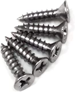 The Hillman Group 45379 7-Inch x 3//4-Inch Flat Phillips Wood Screw 40-Pack Chrome