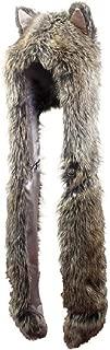 DJDesigns Custom Brown Faux-Fur Wolf Hat