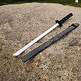 74cm Blade COS, Cos Anime Props, para wood Anime LoversCosplay de anime hecho a mano, juguetes decorativos, material de PU,