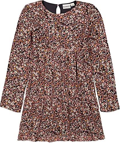 Garcia Mädchen Kleid Langarm Millefleur, Größe:116/122, Farbe:Dark Grey
