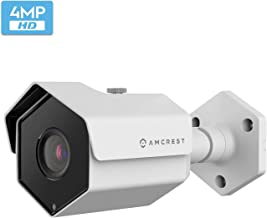 Amcrest UltraHD 4MP Outdoor POE Camera 2688 x 1520p Bullet IP Security Camera, Outdoor IP67 Waterproof, 118° Viewing Angle, 2.8mm Lens, 98ft Night Vision, 4-Megapixel, IP4M-1026EW-28MM (White)
