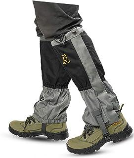 گترهای پایه ضد آب Hmseng با زیپ برای صعود ، گترهای برفی قابل تنظیم ، گترهای آکسفورد برای پیاده روی ، شکار ، کفش برفی ، کوله پشتی ، اسکی