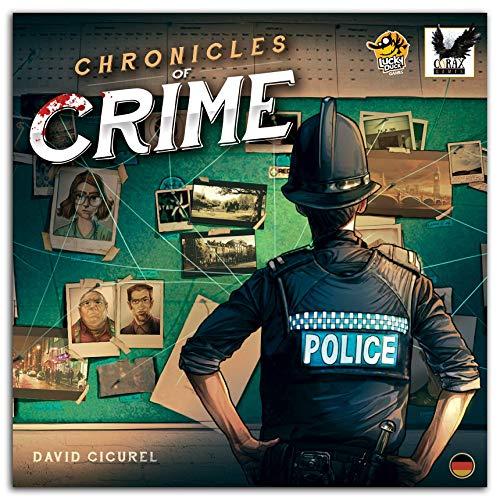 Chronicles of Crime Brettspiel