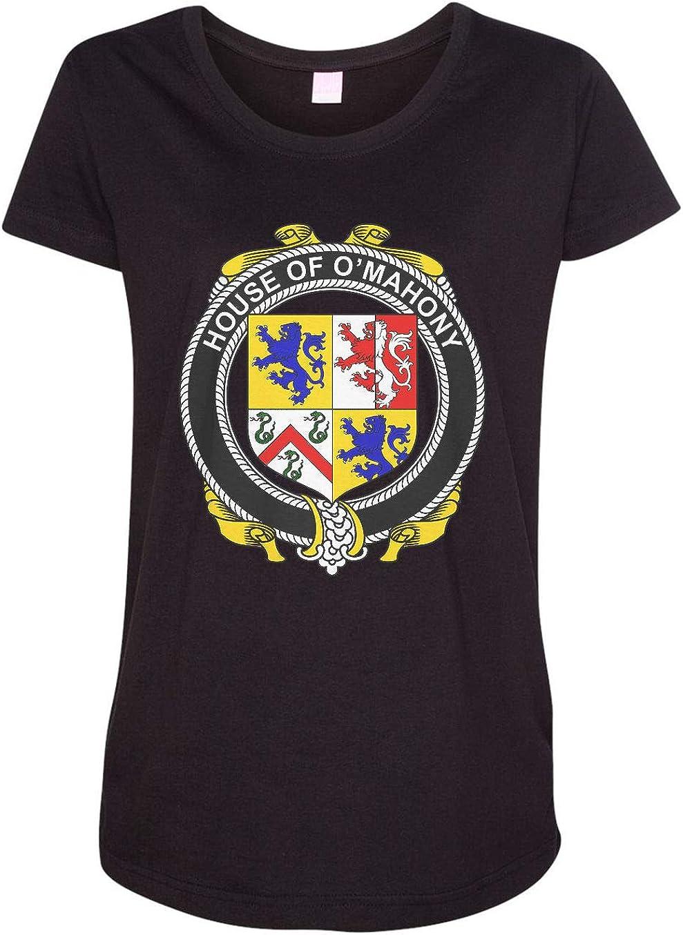 HARD EDGE DESIGN Women's Irish House Heraldry O'Mahony T-Shirt