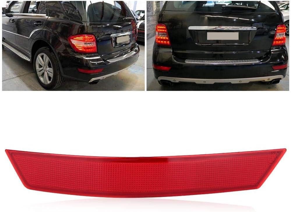 left Reflector Car Rear Bumper Reflector Fits for Mercedes-Benz ...