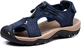 Asifn Athletic Sport Sandals Outdoor Men Summer Fisherman Beach Leather Casual Shoes Breathable Strap Hiking Walking