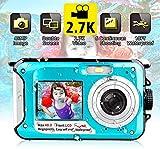 Appareil Photo Etanche sous Marin Caméscope 2.7K FHD 48 MP Améra Vidéo Numérique Camescope...