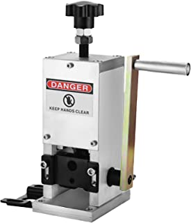 Happybuy Manual Wire Stripping Machine 0.06-0.98 inches, Wire Stripper Machine with Hand Crank Portable, Wire Stripping To...