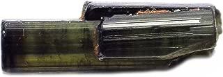 2.42 Ct. Natural Rough Crystal Green Tourmaline Specimen Gemstone
