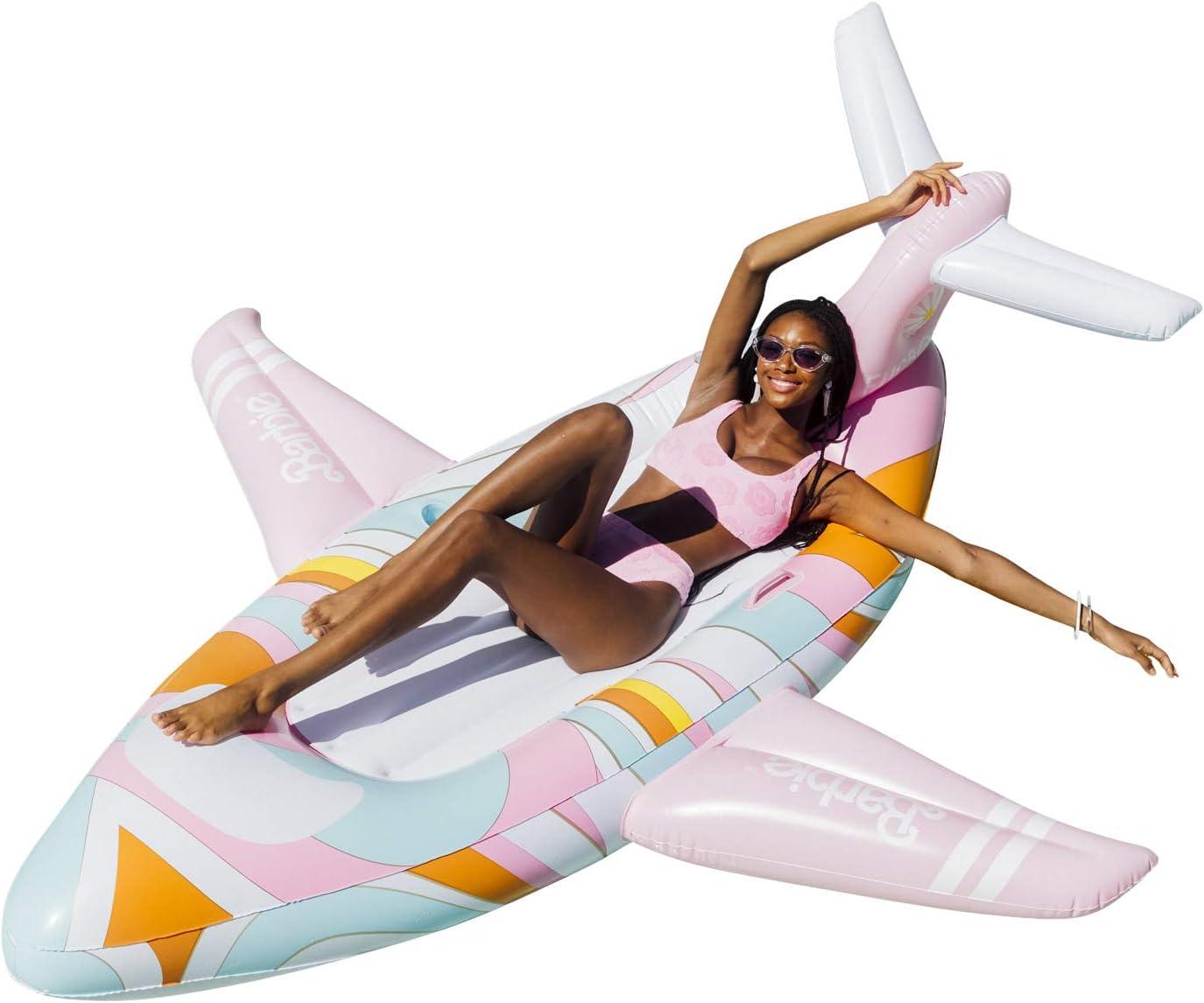 FUNBOY x Malibu Wholesale Barbie Luxury Private Jet Max 56% OFF Float Summer Pool