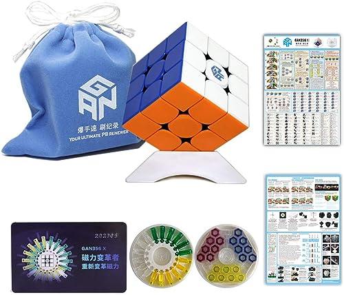 Gobus Ganspuzzle GAN356 X magischer Würfel GAN 356 X GAN356 X IPG V5 3x3 Geschwindigkeitswürfel Puzzle Würfel Stickerless
