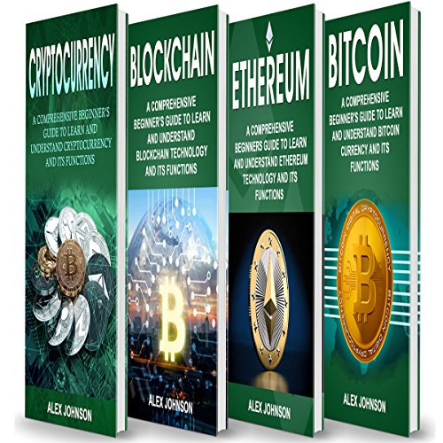 Cryptocurrency: 4 Books in 1 Bible of Beginner's Guide Titelbild