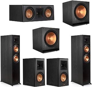 Klipsch5.2 Ebony Home Theater System - 2 RP-6000F, 1 RP-500C, 2 RP-500M, 2 SPL-150 Subwoofers