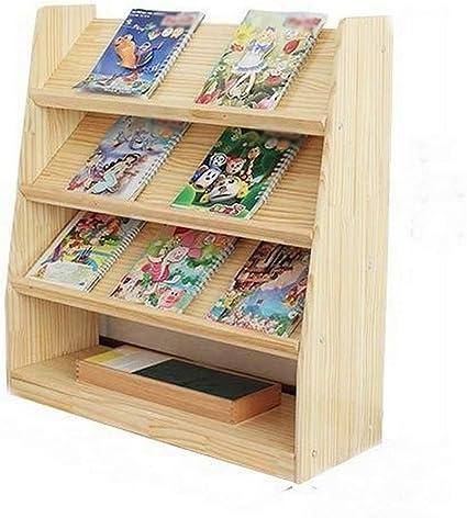 Ramingt-Home Librería niños Estantería Hogar Multifuncional ...