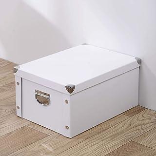 AQGELSNX Boîte de Rangement pour Le Papier Vêtements Couverts Boîte de Rangement pour Le Livre Boîte de Rangement Boîte de...