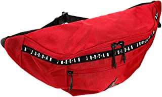 Air Jordan Over sized Taping Crossbody Bag (One Size, Gym Red)
