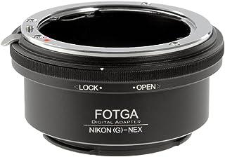 Adaptador de montura de lente para Nikon G F AI AIS a Sony E Mount NEX5 5C 5N 5R NEX6 NEX7 A7S A7R A7II A7SII A7RII A7III A7RIII A7SIII A9 A6500 A6300 A6000 A5100 A5000 A3500