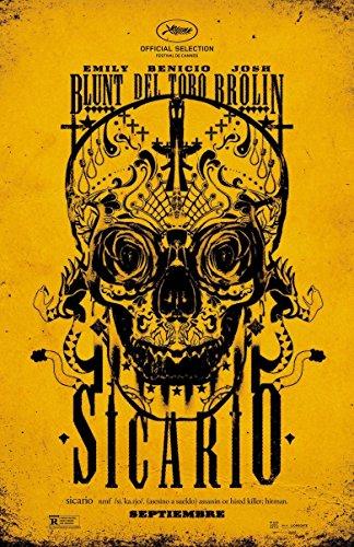 Poster Sicario Movie 70 X 45 cm