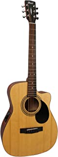 Cort Standard Series AF515 Acoustic/Electric Cutaway, Open Pore Finish