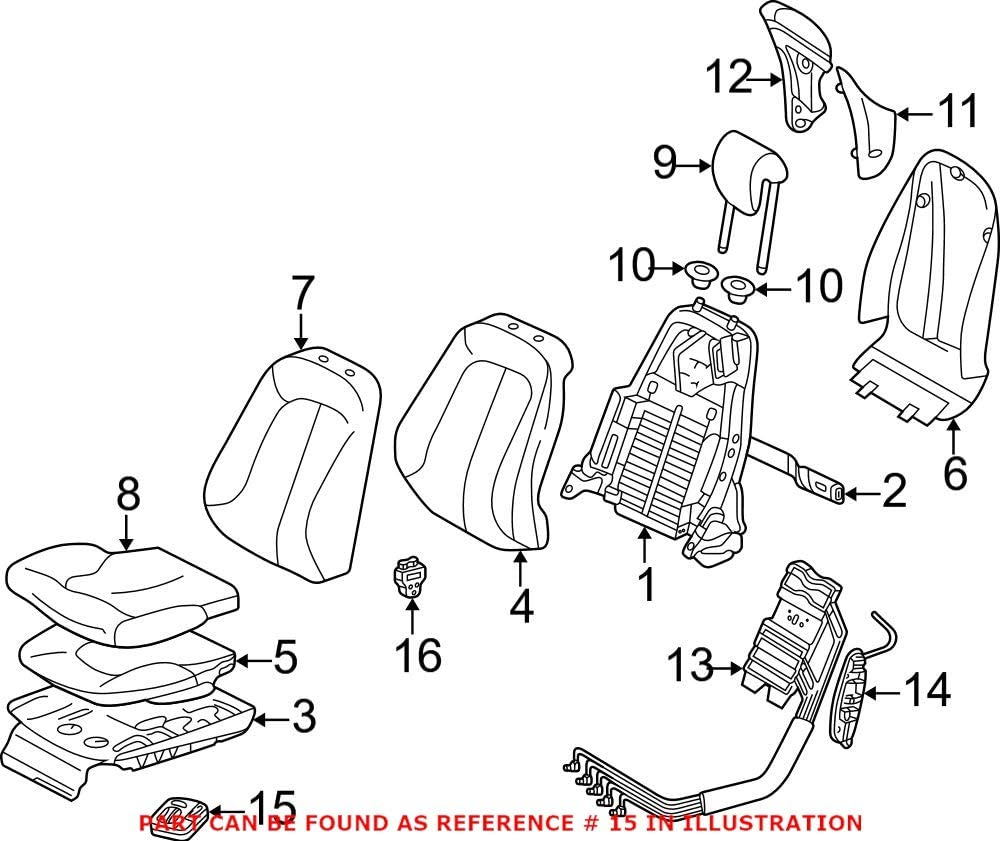 Genuine OEM Power Rapid rise Seat Mercedes for Switch lowest price 21587000107C45