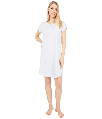 Skin Carissa Organic Pima Cotton Sleepshirt (Ice Blue) Women