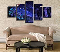 Painting art wall modular picture of living room 5 board movie decoration canvas scene print frame