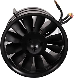 FMS 90mm 12 Blade Ducted Fan with Outrunner Brushless 3546 KV1900 Motor For RC AIirplane EDF 6S