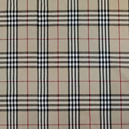 Panini Tessuti, Stoffausschnitte Tartan, 1 m x 145 cm, schottisches Muster, ideal für Schneiderarbeiten: Hemden, Röcke, Kilt.